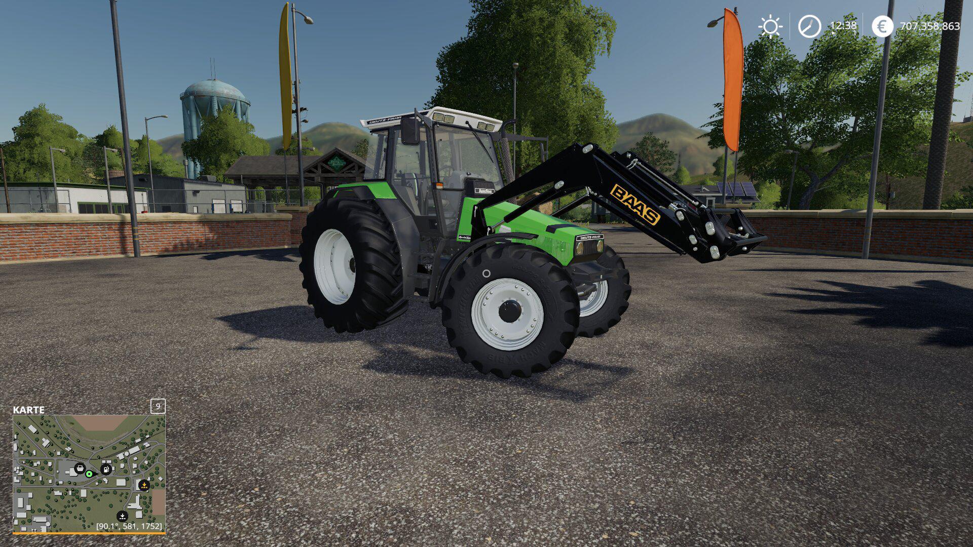 BAAS INDUSTRIELADER V1.0 для Farming Simulator 2019
