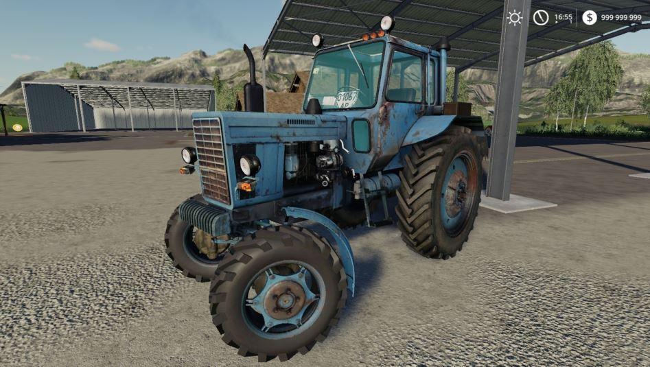 МТЗ-82 V1.2 для Farming Simulator 2019