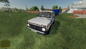 ВАЗ-2121 «НИВА» V1.1.0.0 для Farming Simulator 2019