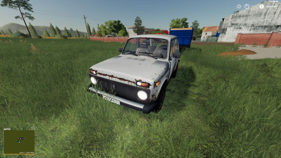 ВАЗ-2121 «НИВА» V1.1.0.0 для Farming Simulator 2019
