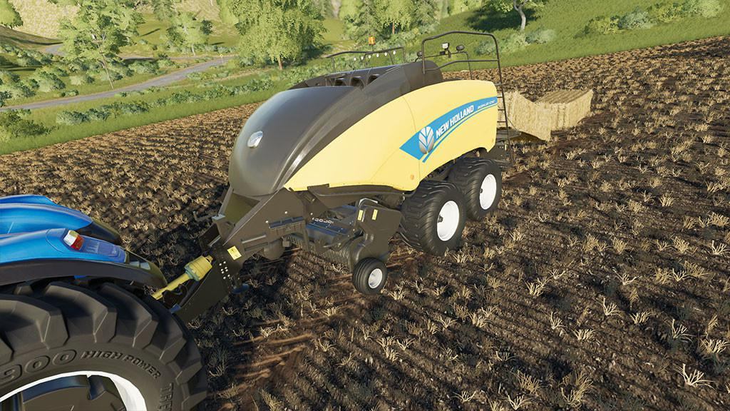 NEW HOLLAND BIGBALER 1290 V1.0.0.0 для Farming Simulator 2019