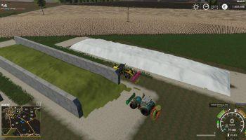 FREILANDSILO PLAZIERBAR V1.1 для Farming Simulator 2019