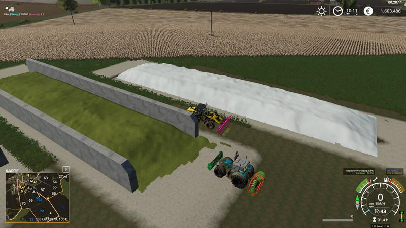 FREILANDSILO PLAZIERBAR V1.1 для Farming Simulator 2019