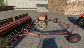СЕЯЛКА СЗ-3.6 И ДВЕ СЦЕПКИ V1.1.0.0 для Farming Simulator 2019