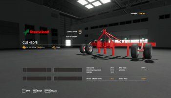 KVERNELAND CLE 430/5 V1.0.0.0 для Farming Simulator 2019