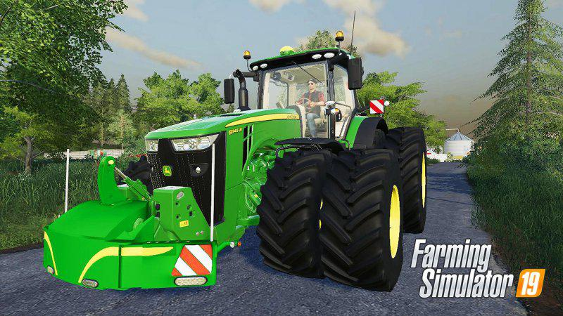 JOHN DEERE SERIES 8R LIMITED EDITION V1.1.0.0 для Farming Simulator 2019