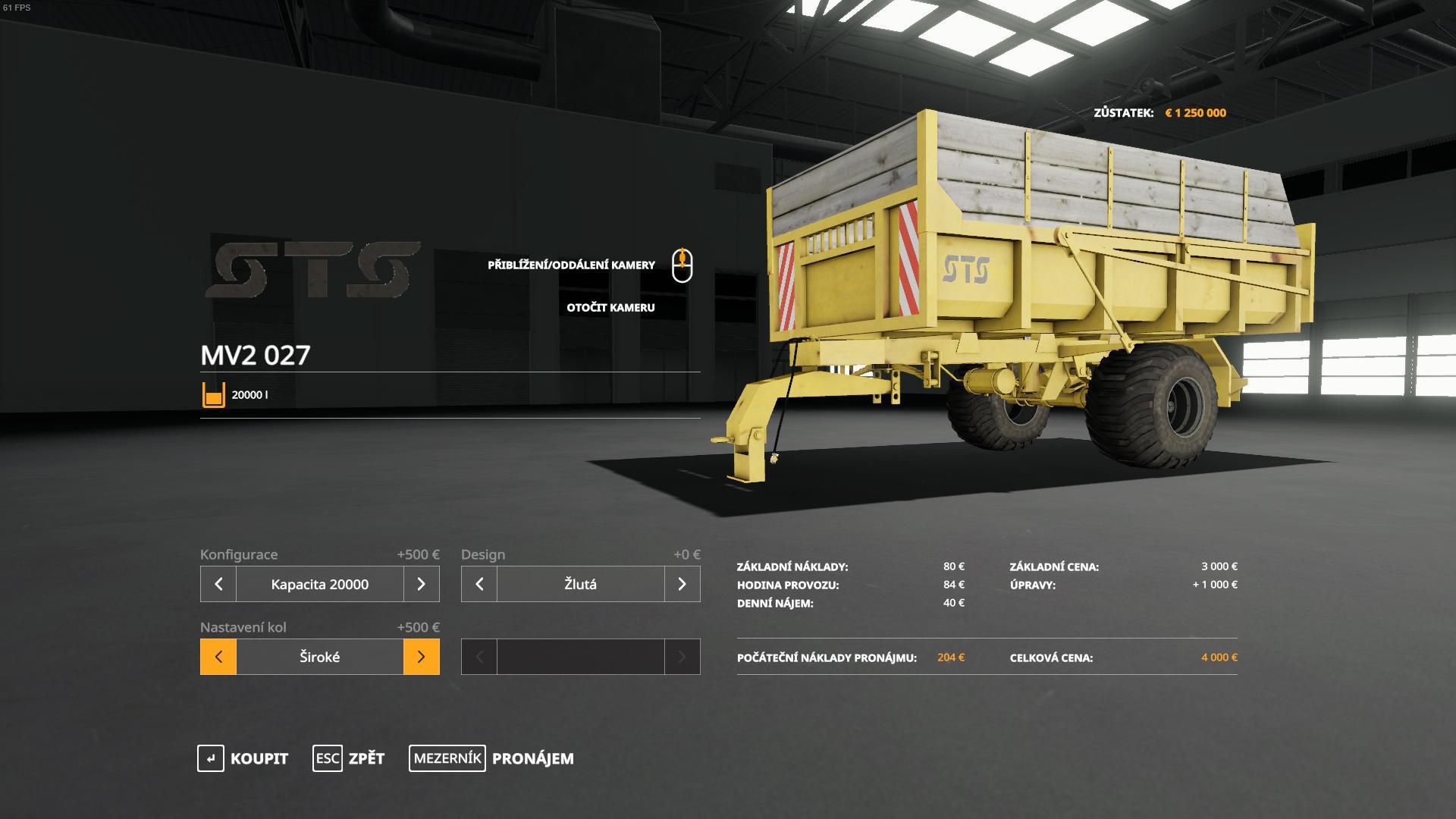 MV2 027 V1.0.0.0 для Farming Simulator 2019