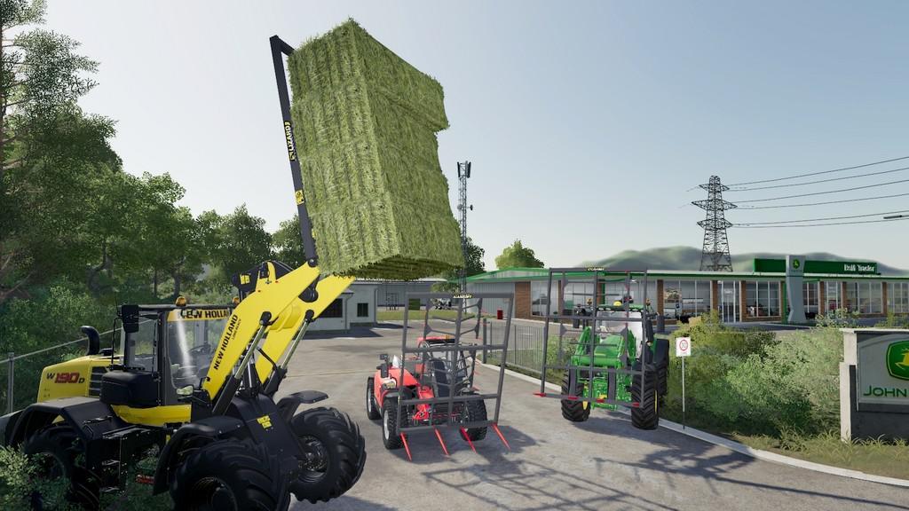 FORK LIZARD WITH CLAWS V1.0.0.0 для Farming Simulator 2019