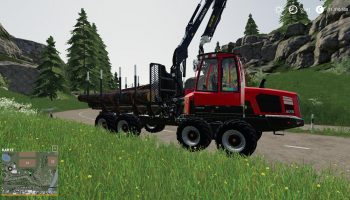 KOMATSU 875 AUTOLOAD V2.1.0 для Farming Simulator 2019