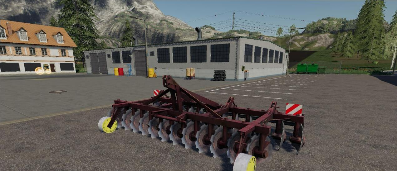 АГД-4-5 V1.0.0.0 для Farming Simulator 2019