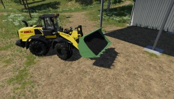 WHEEL LOADER SHOVEL V1.0.0.0 для Farming Simulator 2019