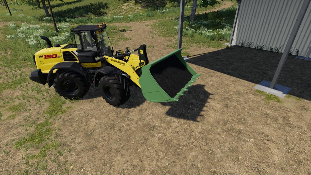 WHEEL LOADER SHOVEL V1.0.0.0 для Farming Simulator 2019
