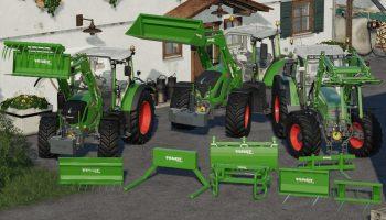 FENDT CARGO PACK V1.0.0.0 для Farming Simulator 2019