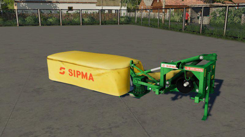 SIPMA PRERIA 1600 V1.0.0.0 для Farming Simulator 2019
