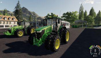 JD 7R + 8R V1.0.0.0 для Farming Simulator 2019
