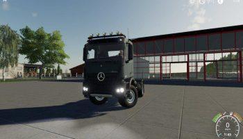 Mercedes Arocs Agrar v1.0.0.0 для Farming Simulator 2019