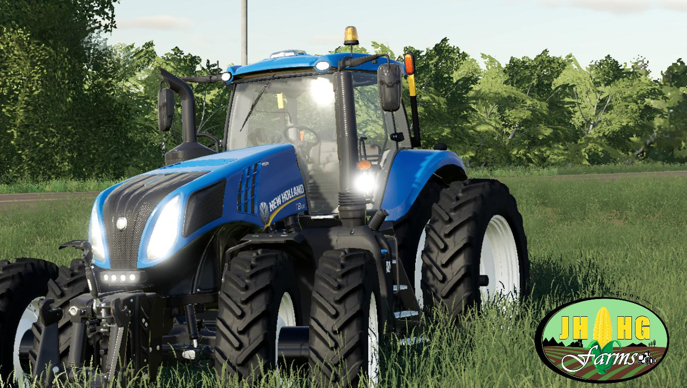 NEW HOLLAND T.8 ROW CROP V1.0 для Farming Simulator 2019