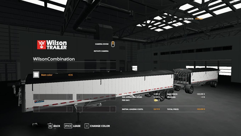 WILSON TRAILER V1.0.0.0 для Farming Simulator 2019