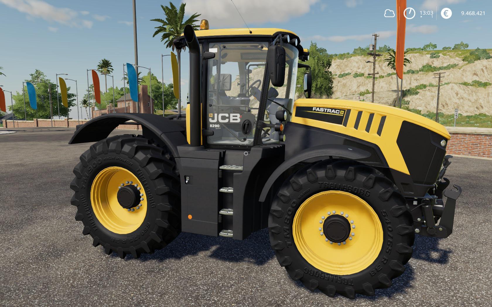JCB FASTRAC 8000 SERIE V1.1.0.0 для Farming Simulator 2019