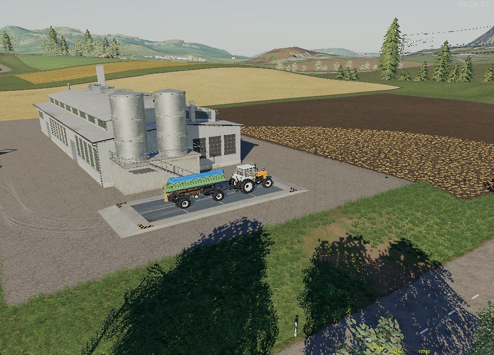 PLACEABLE SALES STATION V1.0.0.0 для Farming Simulator 2019