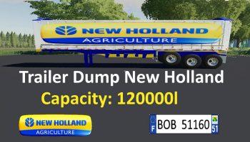 TRAILER NEW HOLLAND V1.0.0.2 для Farming Simulator 2019