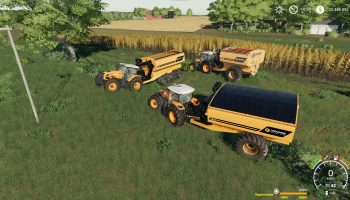 COOLAMON CHASER BINS 18T AND 24T V2.0.0.0 для Farming Simulator 2019