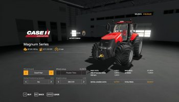 CASE IH MAGNUM US W/HELICOPTER TANKS V1.1 для Farming Simulator 2019