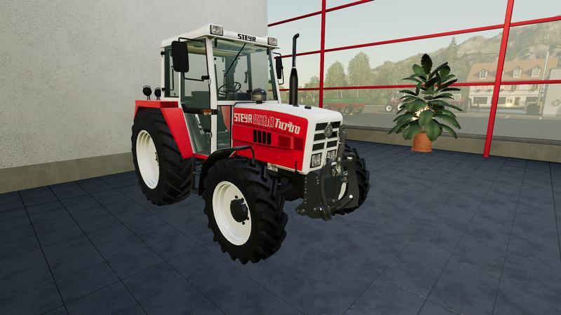 STEYR 8090A TURBO SK2 BASISVERSION V1.5.0.0 для Farming Simulator 2019