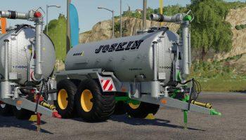 JOSKIN STAPEL MODULO2 PRALLTELLER V1.0 для Farming Simulator 2019