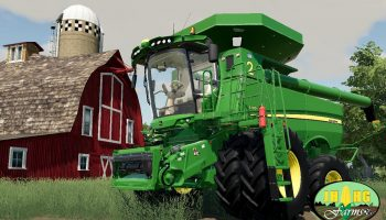 JOHN DEERE S700 SERIES USA V2.0 для Farming Simulator 2019