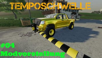 TEMPOSCHWELLE V3.0.0.0 для Farming Simulator 2019