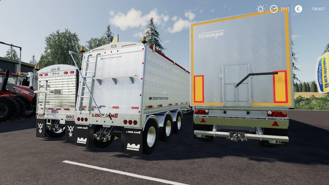 TRAILERS PACK BY STEVIE для Farming Simulator 2019