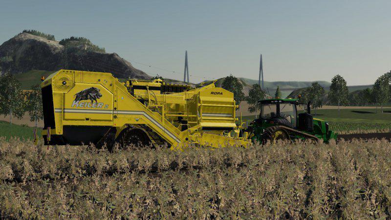 ROPA KEILER 2 V1.0.0.0 для Farming Simulator 2019
