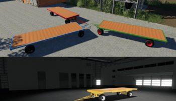 HESSELING BALLEN WAGON V1.0 для Farming Simulator 2019