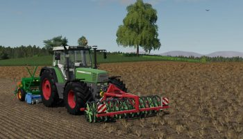 SILOWOLFF FRONTPACKER 300 V1.0.0.0 для Farming Simulator 2019