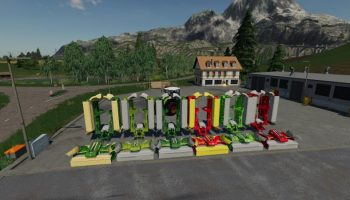 MAHWERKS PACK WITH COLLECTOR V1.0 BETA для Farming Simulator 2019