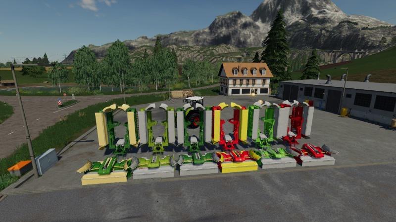 MAHWERKS PACK WITH COLLECTOR V1.0 BETA для Farming Simulator 2019