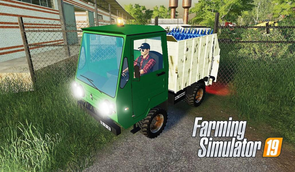 IFA MULTICAR FEED MIXER V1.0 для Farming Simulator 2019