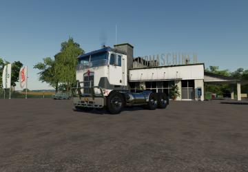 Мод Kenworth K100-K123 для Farming Simulator 2019