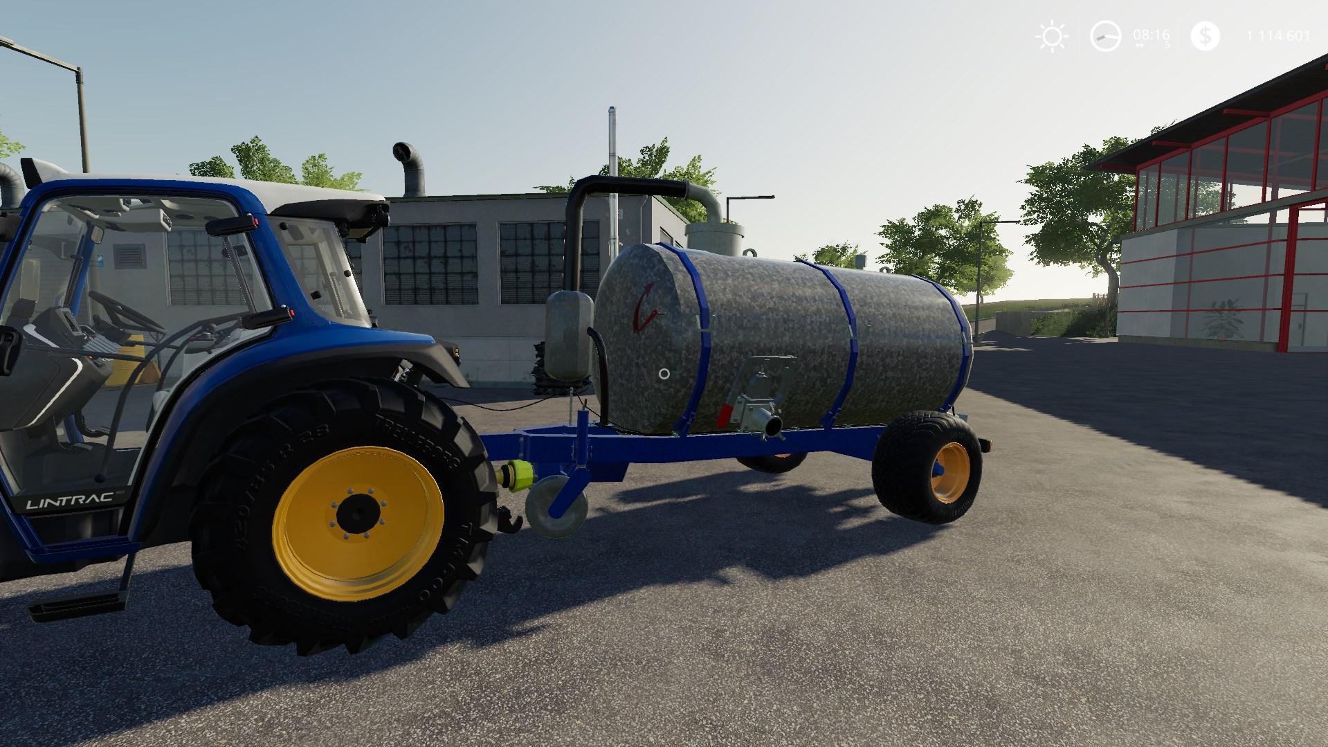 GALUCHO CG6000 V1.0.0.2 для Farming Simulator 2019