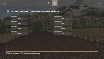 HELPERADMIN V1.0.0.0 для Farming Simulator 2019