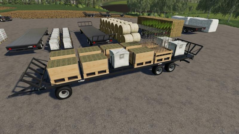 FLIEGL DPW 180 AUTOLOAD V1.4 для Farming Simulator 2019