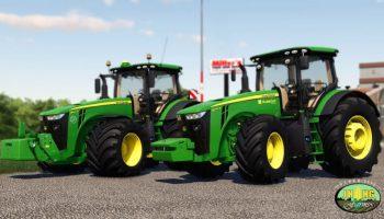 John Deere 8R 2016-2018 Series EU версия 1.0.0.0 для Farming Simulator 2019 (v1.3.х) для Farming Simulator 2019