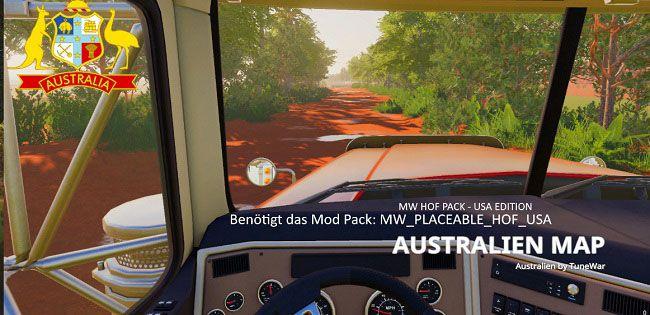 Карта «Australien Map» версия 1.0.0.0 для Farming Simulator 2019 (v1.3.х) для Farming Simulator 2019