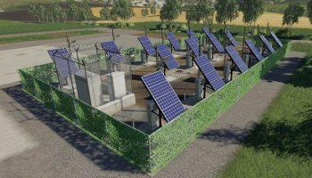 Solar Plant версия 1.0.0.0 для Farming Simulator 2019 (v1.3.х) для Farming Simulator 2019