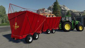 Kverneland Taarup 107 версия 1.0.0.0 для Farming Simulator 2019