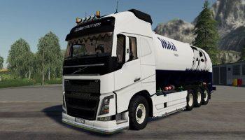 Volvo FH16 truck pack версия 1.0.0.0 для Farming Simulator 2019 (v1.3.х) для Farming Simulator 2019