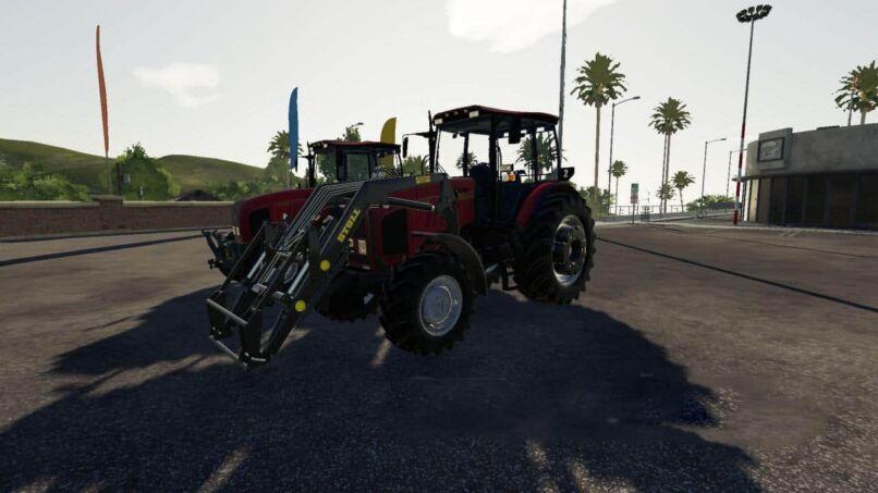 Беларус МТЗ-2022 версия 1.3.2 для Farming Simulator 2019
