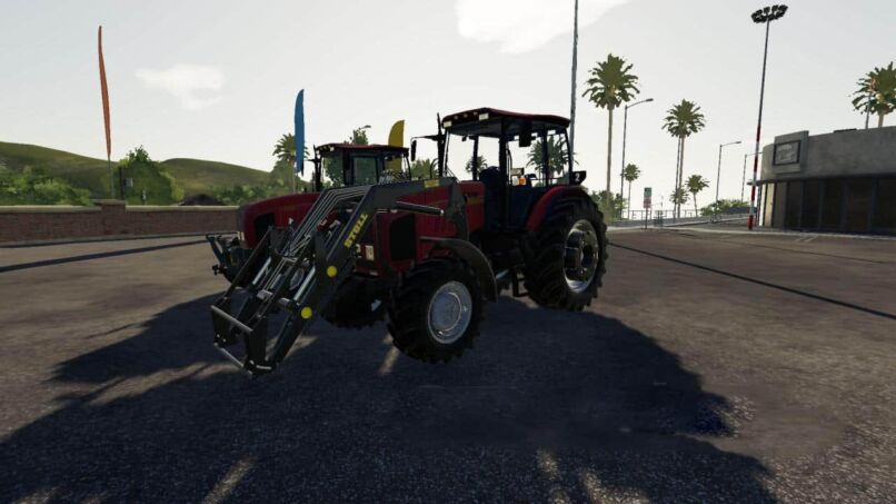Беларус МТЗ-2022 версия 1.3.2 для Farming Simulator 2019 (v1.3.х) для Farming Simulator 2019