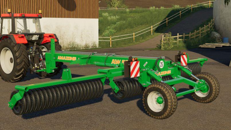 Amazone AW 6600 v1.0.0.0 для Farming Simulator 2019